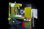 「青年の一日」---コンパクトな複合機能家具